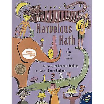 Marvelous Math - A Book of Poems by Lee Bennett Hopkins - Karen Barbou