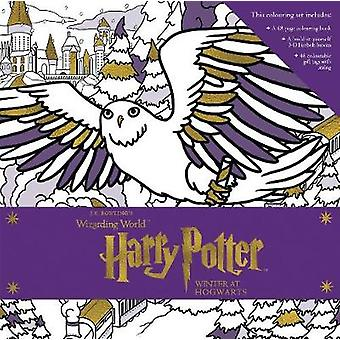 Harry Potter - Winter at Hogwarts - A Magical Colouring Set by Insight