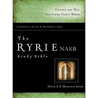Ryrie Study Bible-NASB by Charles C Ryrie - 9780802484697 Book