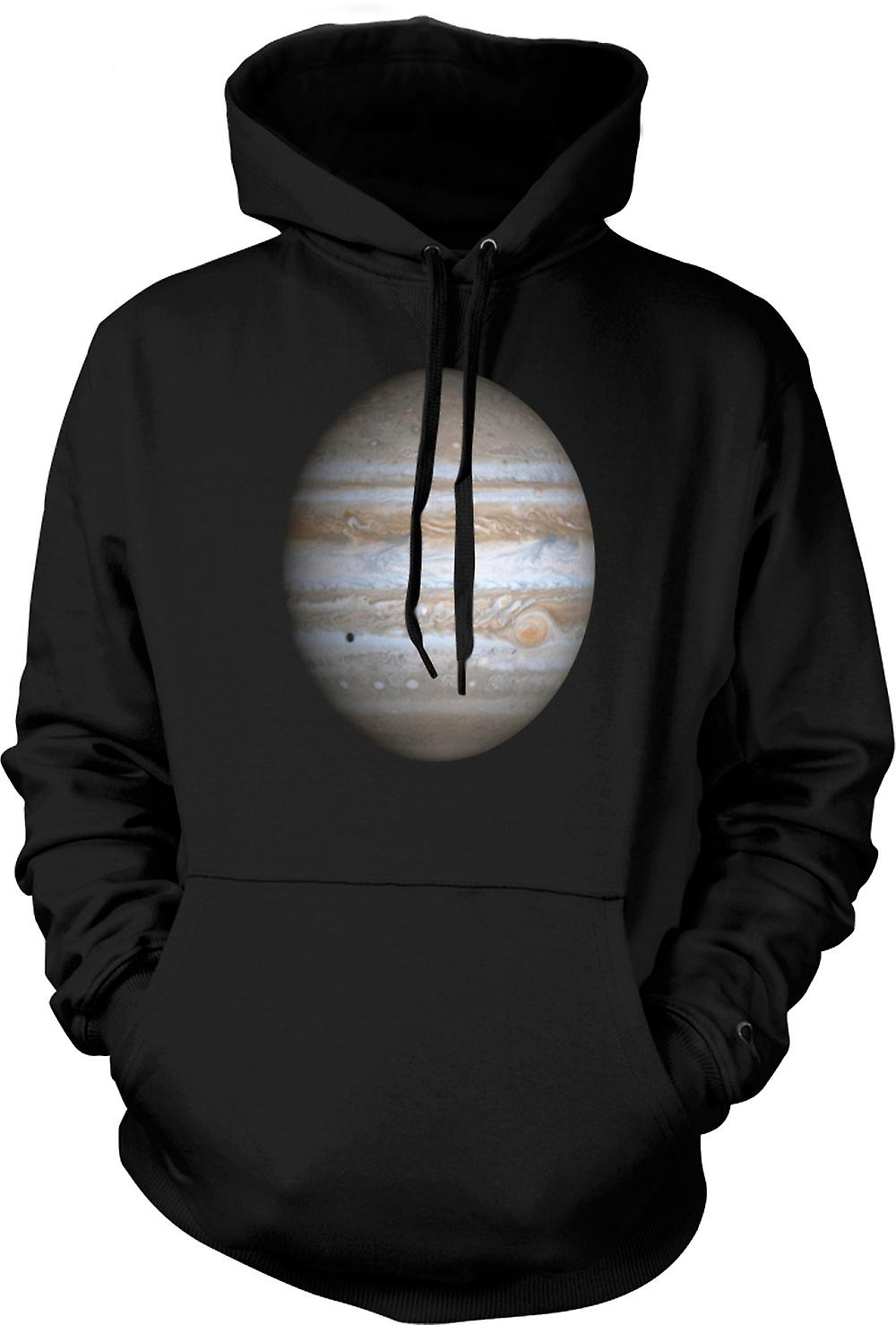 Mens Hoodie - Jupiter - Cool astronomia