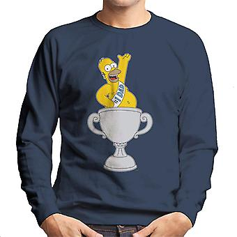 The Simpsons Number 1 Dad Men's Sweatshirt