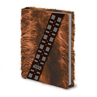 Fur-lined A5 Notebook-Star Wars (CHEWBACCA)