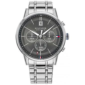 Tommy Hilfiger | Men's Stainless Steel Bracelet | Grey Dial | Chronograph | 1791632 Watch