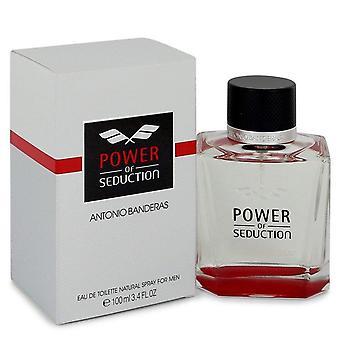 Power Of Seduction Eau De Toilette Spray By Antonio Banderas 100 ml