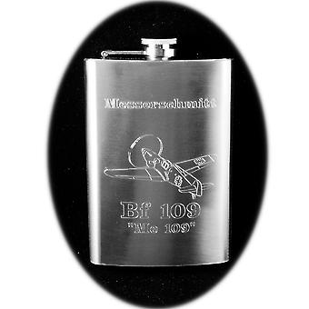 8oz bf 109 hip flask messerschmitt me 109 airplane r1