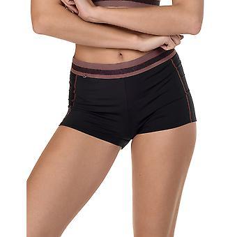 Lisca 62503-02 Women's Energy Black Sports Brief