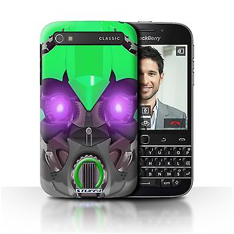 STUFF4 Case/Cover for Blackberry Classic/Q20/Bumble-Bot groen/Robots