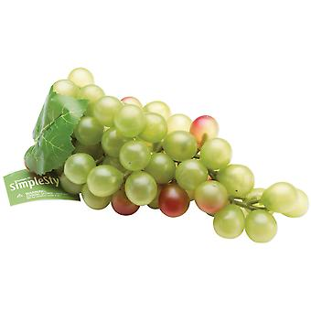 Design Simple fruits décoratifs gros raisins verts Rs9896