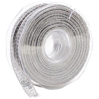 Square Sequin Trim 10Mm X 15.95 Yards Matte Silver 9801 10 102
