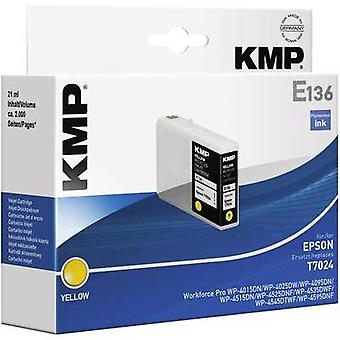 KMP replaced Epson T7024 Compatible Yellow 1620,4009