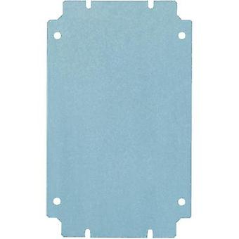 Rittal 1562.700 KL 1562.700 Mounting Plate For Terminal Boxes (L x W) 200 mm x 200 mm Galvanised steel sheet Compatible