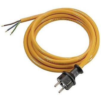 Current Cable [ PG plug - Cable, open-ended] Orange 5 m as - Schwabe 70908