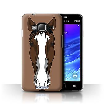 STUFF4 Case/Cover for Samsung Z1/Z130/Horse/Animal Faces