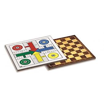 Cayro Tab.  Parchis-ladies wood 33 X 33 (children, toys, board games, strategy)