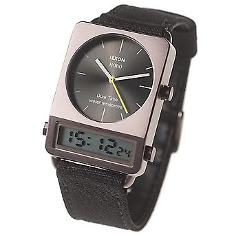 Lexon Hobo Dual Time Watch