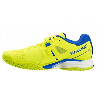Babolat junior Pro Pulse all court tennis shoes - yellow/blue