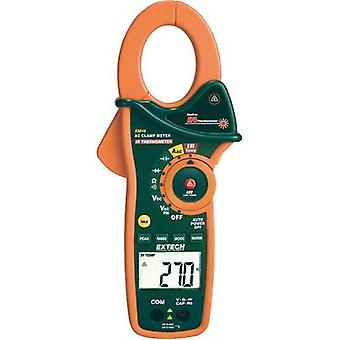 Clamp meter, Handheld multimeter digital Extech EX810 Calibrated to: Manufacturer's standards (no certificate) IR thermo