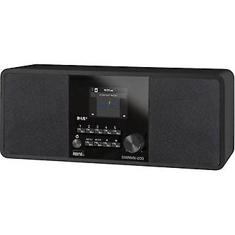 Internet Table top radio Imperial Dabman i200 AUX, DAB+, Internet radio, FM, USB Black