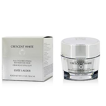 Estee Lauder Crescent White Full Cycle Brightening Rich Moisture Creme 50ml/1.7oz