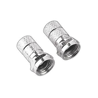 HAMA Contact F-Plug 6, 8 mm 2pcs Profiline ST