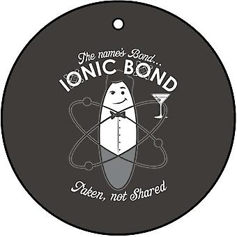 Ionic Bond Car Air Freshener