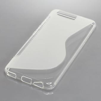 Mobile Shell S-line TPU protective bumper shell for Huawei P10 case transparent