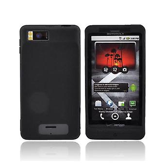 OEM Motorola Droid X Silicone Skin Case MOTDRDXSILB (Black) (Bulk Packaging)
