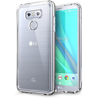 LG G6 Case,i-Blason, Clear Halo Series Bumper Case