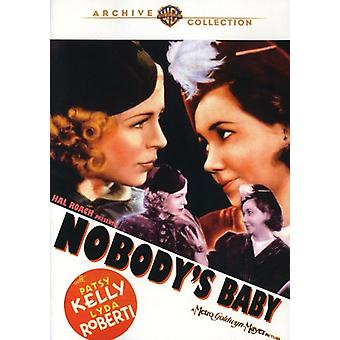 Nobody's Baby [DVD] USA import