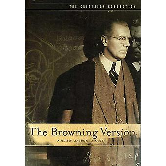 Browning Version (1951) [DVD] USA import