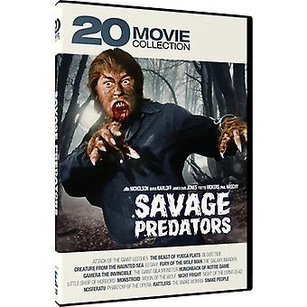 Savage Predators: 20 Movie Collection [DVD] USA import