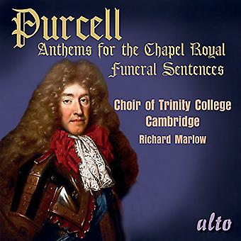 Chor des Trinity College in Cambridge / Ric - Purcell: Hymnen für die Chapel Royal [CD] USA Import