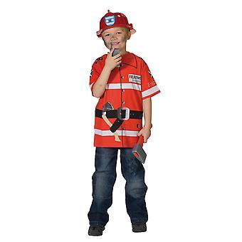Fire Department shirt kids Fireman costume T-Shirt