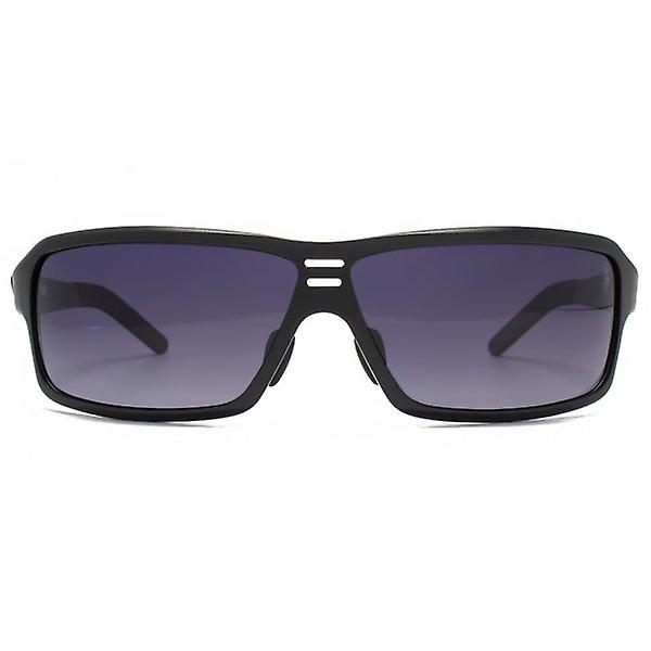 STORM Meda Sunglasses In Metallic Black Polarised