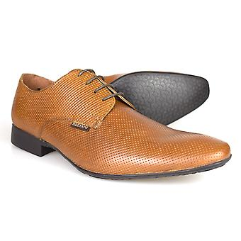 Red Tape Gerald Men's Tan Leather Formal Lace-up Shoes