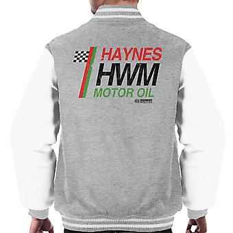 Haynes Castrol Motor Oil Men's Varsity Jacket