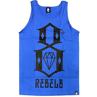 Rebel8 Logo Tank Top Royal