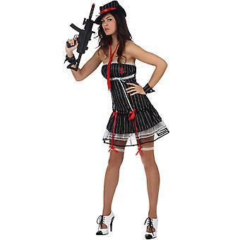 Costume de femme costumes Sexy ganster