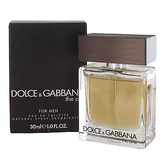 Dolce & Gabbana The One 30ml Eau de Toilette Spray for Men