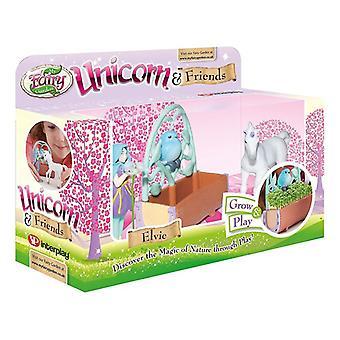 Min Fairy hage Unicorn og venner spille sett