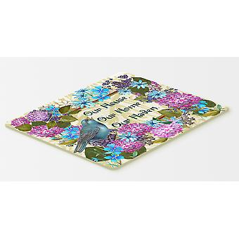 Our House Our Home Our Haven Kitchen or Bath Mat 20x30
