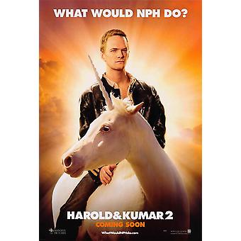 Harold and Kumar Escape from Guantanamo Bay Movie Poster (11 x 17)