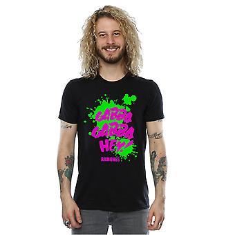 Ramones mænds Gabba Gabba Hey T-Shirt