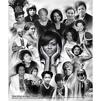 Große afrikanische Amerikaner Frauen Poster Print von Wishum Gregory (20 x 24)