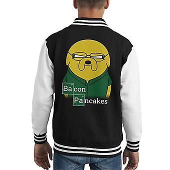 Breaking Bad Bacon frittelle Varsity Jacket di Adventure Time Kid