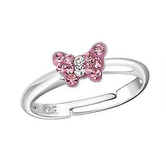 Schmetterling - 925 Sterling Silber Ringe