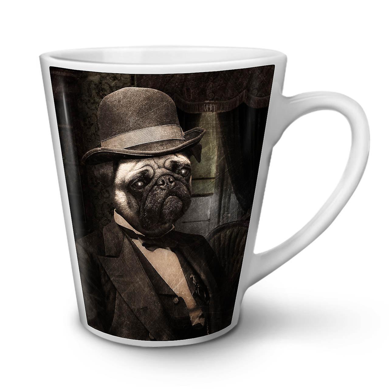 Céramique Blanche Pug Mignon OzWellcoda Tasse En Sir Nouvelle Chien Latte Drôle Café 12 Ok0NnwPX8