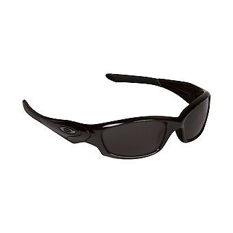 Straight Jacket Replacement Lenses Polarized Black & Grey by SEEK fits OAKLEY