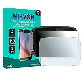 TomTom Rider 40 Screen Protector - Mikvon Clear (Retail Package with accessories)