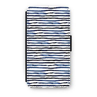 iPhone X Flip Case - overraskende linjer